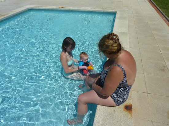 Kim's Camping Caravaning & Bungalow Park: little pool at kims