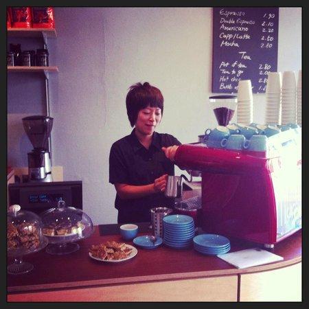 Cross Cafe: Coffee by Badger & Dodo
