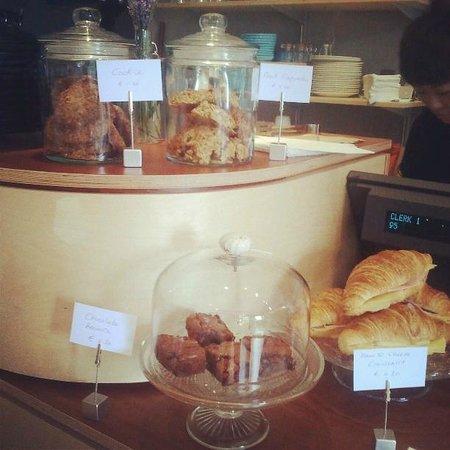 Cross Cafe: Freshly baked goods