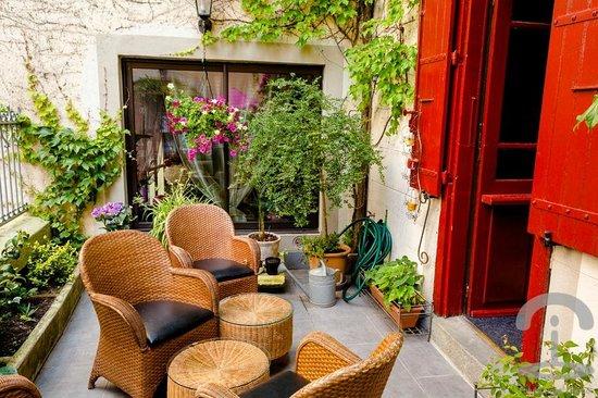 Hotel Renaissance : Terraza