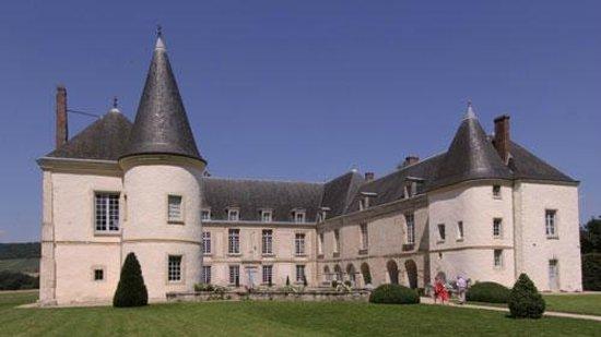 Chateau de Conde: Château de Condé sur la route du Champagne