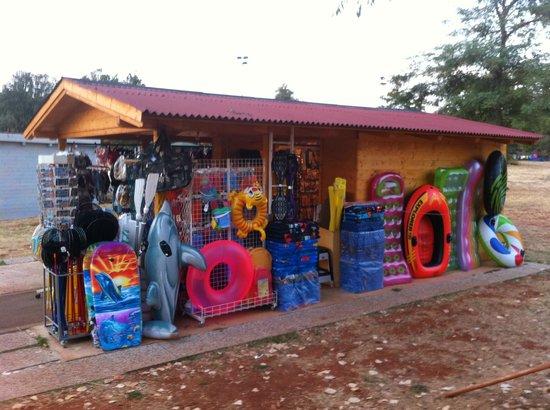 CampingIN Park Umag: chiosco vendita mare