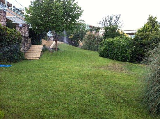 Daphne Holiday Club: A piece of garden...