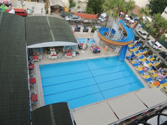 Side Sedef Hotel: basen