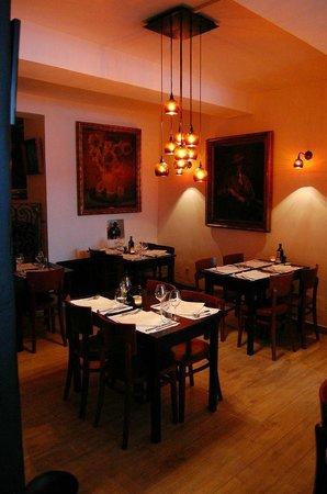 Le Wine Bar des Marolles : la salle