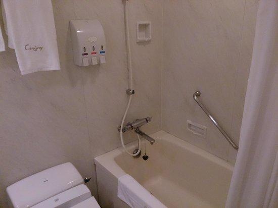 Odakyu Hotel Century Sagami-Ono : 熱水全天供應! PS.是免治馬桶