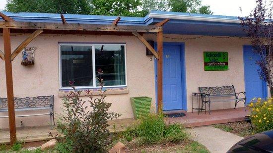 Kokopelli Lodge & Suites: Vue entrée