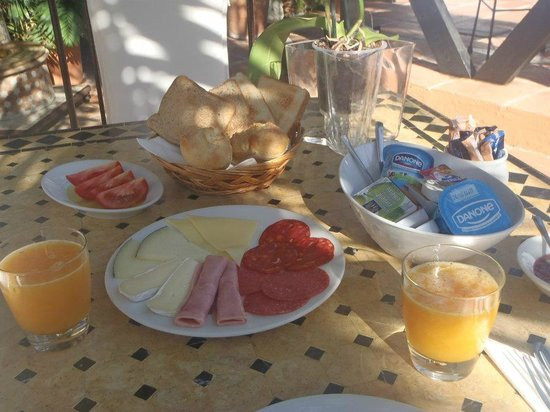 Boutique Hotel Las Islas: Lovely breakfast