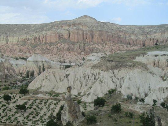 Cappadocia Hitchhiker: Valley view