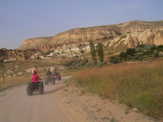 Cappadocia Hitchhiker: On the road...