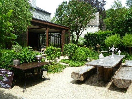 Mooie tuin terras foto van the guest house durbuy tripadvisor - Terras van huis ...