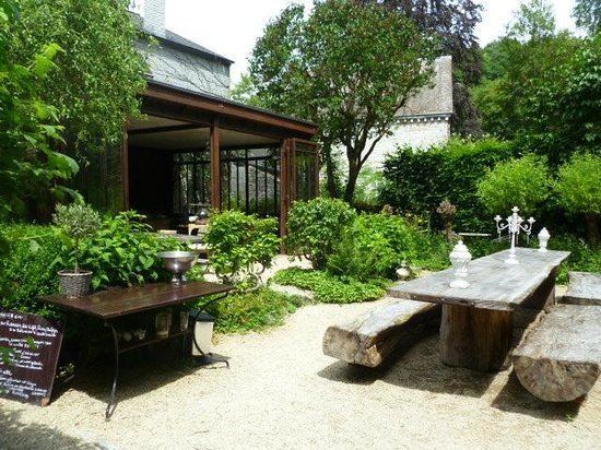 Mooie tuin terras foto van the guest house durbuy tripadvisor - Foto van het terras ...