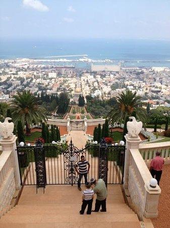 Yefe Nof Street: Haifa from Panorama Street