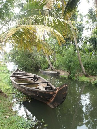 Coconut Creek Farm and Homestay Kumarakom: nearby canals