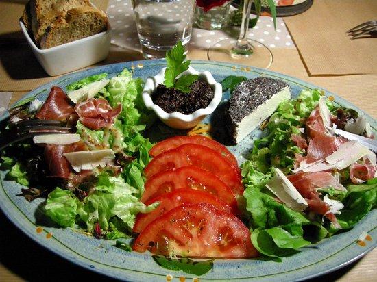 Le Coquelicot: La salade des copains