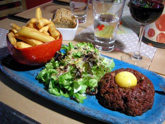 Le Coquelicot: Steak Tartare du Chef