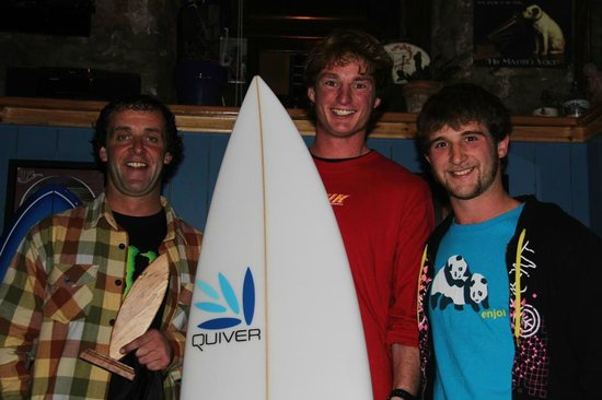 Oceanics Surf School : Richie one of our Instructors who won the East Coast Surf Intervarsities 2012 Mens Open Final