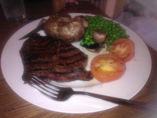 Great Western Hotel: Rump Steak Meal