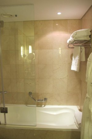 Kempinski Hotel Amman: Spacious shower