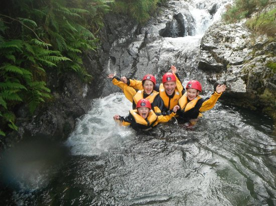 Crags Adventures: Canyoning, 2012