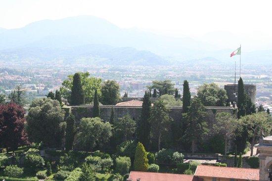 Rocca di Bergamo : dal gombito