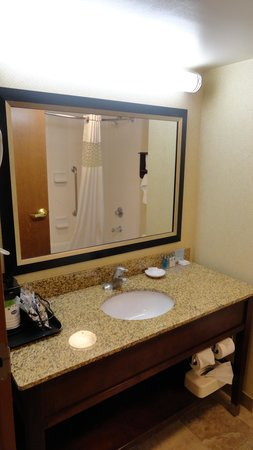 Hampton Inn Newport News-Yorktown: Bathroom