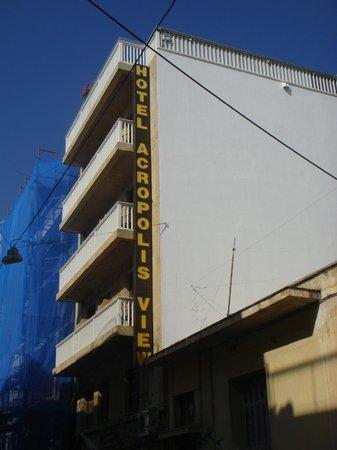 Acropolis View Hotel: Street view