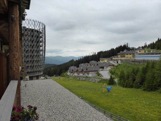 Falkensteiner Hotel Cristallo: Room with a view