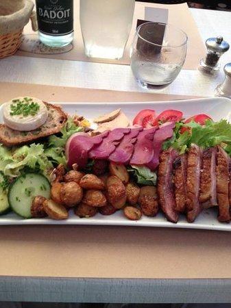 """Le Patio : La """" salade du Quercy"""""""