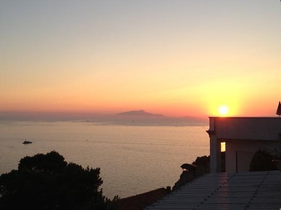 Hotel & Spa Francischiello Bellavista : Ausblick von unserer Terrasse