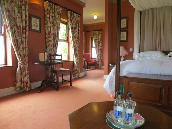 "Lough Inagh Lodge: The very comfortable ""George Bernard Shaw Room"""
