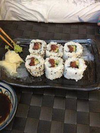 Ayame: The sushi was delicious!!
