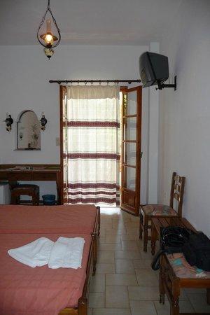 Armonia Hotel: Sur la télé,en français:seulement France 24