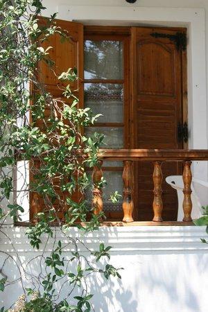 Armonia Hotel : Balcon et terrasse de ma chambre