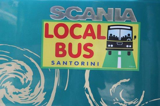 Armonia Hotel : La facilité des bus locaux