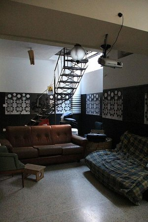AthenStyle Hostel: Common space basement
