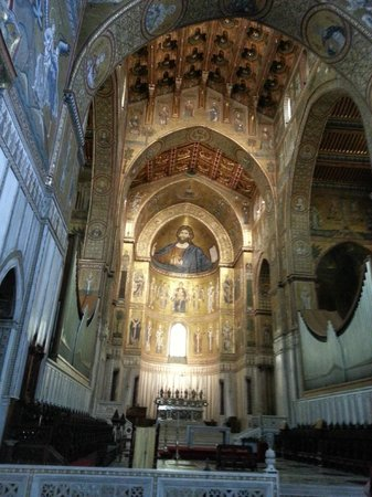 Monreale, อิตาลี: Interior Monreal Cathedral