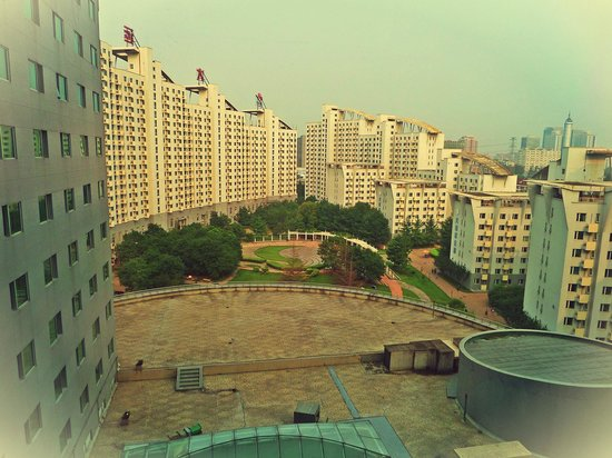 Park Plaza Beijing Science Park: View of the park and dormitories/ apartments
