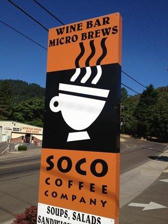 Soco coffee company Myrtle Ca