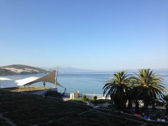 Tusan Beach Resort: Вид из ресторана