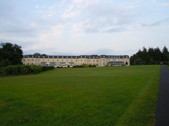 Bloomfield House Hotel, Leisure Club & Spa : View from the lake toward rear of hotel