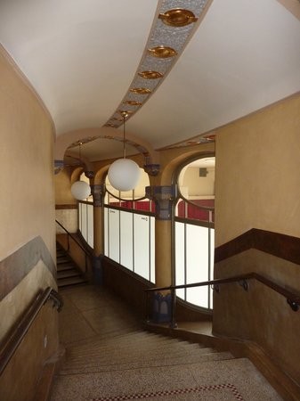 Vooruit Arts Centre: Staircase