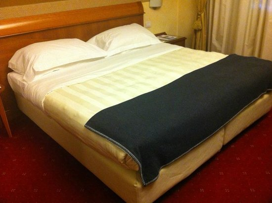 BEST WESTERN Hotel Major: letto extra large!