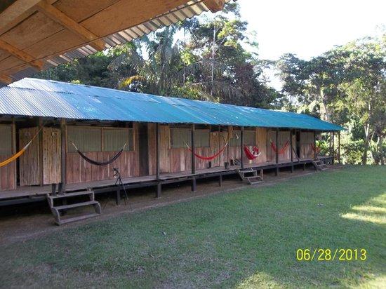 Shiripuno Lodge: las habitaciones