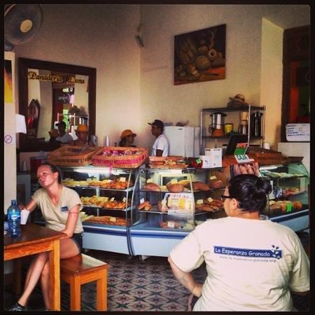 Panaderia Luna : à l'intérieur