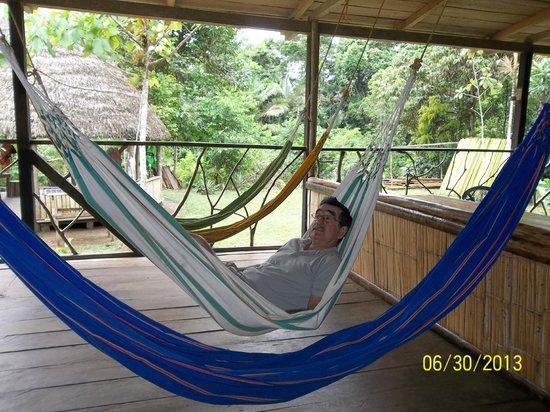 Shiripuno Amazon Lodge: una buena siesta