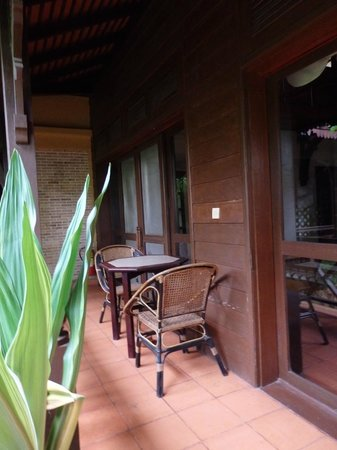 The Pool and Palm Villa: Quiet corner
