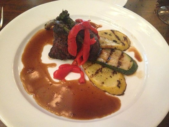The Summit Restaurant: 10 oz. filet mignon at the Summit!