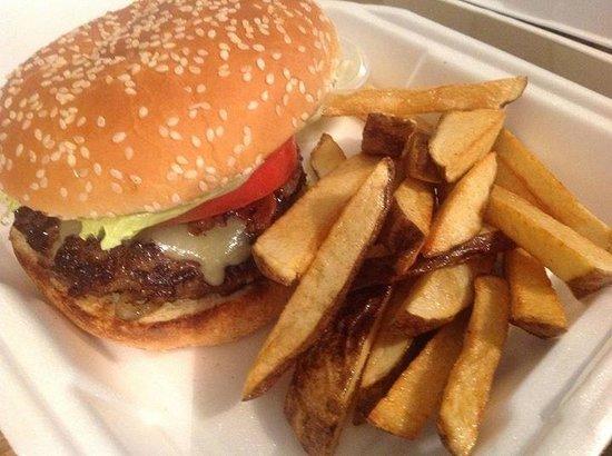 Ruby Sandbar : Great burgers.