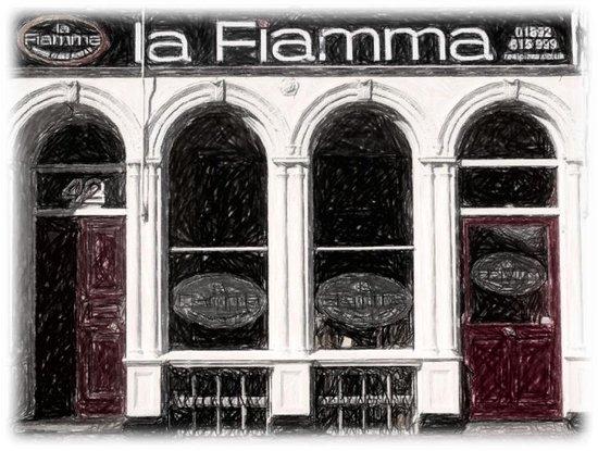 La Fiamma: Our lovely Restaurant on Mt Ephraim